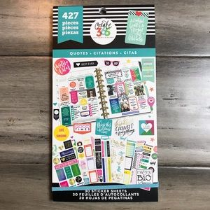 The Happy Planner Sticker Book - Quotes